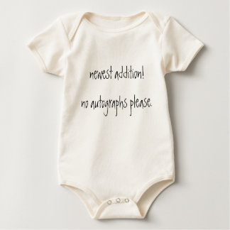 newest addition! baby bodysuit