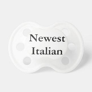 """Newest Italian"" Pacifier"