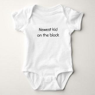 Newest kid on the block baby bodysuit