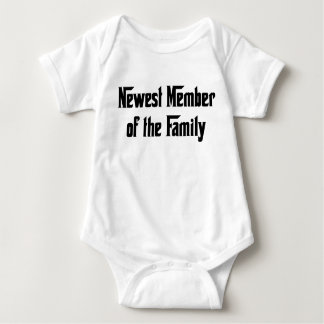 Newest Member of the Family Baby Bodysuit