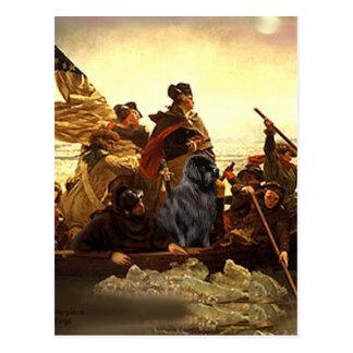 Newfie 1 - Washington Crossing..... Postcard