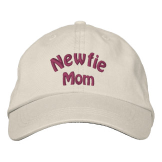 Newfie Mom Newfoundland Embroidered Hat
