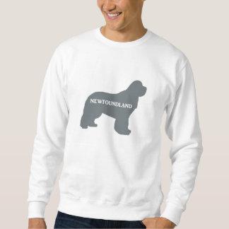newfie name silo grey sweatshirt