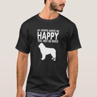 Newfie or Newfoundland Dog Tshirt