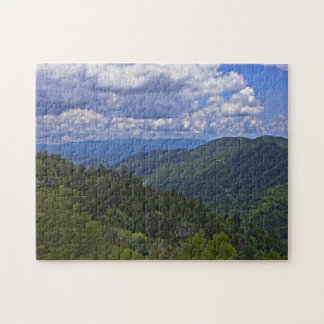 Newfound Gap, Great Smoky Mountains Photo Puzzle