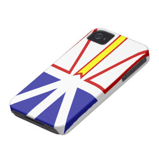 Newfoundland and Labrador Flag iPhone 4 Case