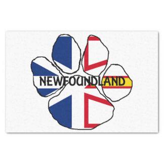 Newfoundland_and_Labrador flag name paw Tissue Paper