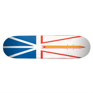 Newfoundland and Labrador Flag Skateboard