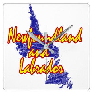 Newfoundland and Labrador Wallclock