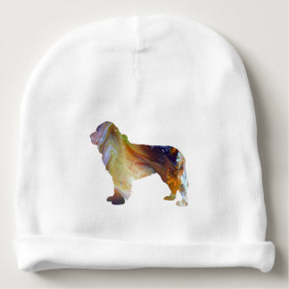 Newfoundland Dog Art Baby Beanie