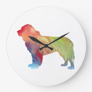 Newfoundland Dog Art Wall Clock