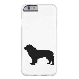 newfoundland dog barely there iPhone 6 case