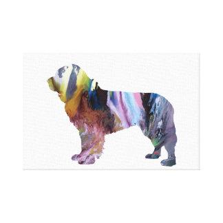 Newfoundland Dog Canvas Print