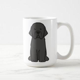 Newfoundland Dog Cartoon Coffee Mug