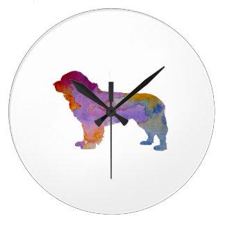 Newfoundland Dog Clock