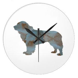 Newfoundland Dog Clocks