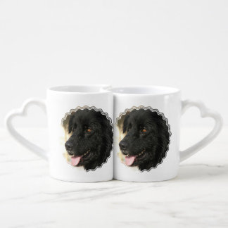 Newfoundland Dog Couples Mug