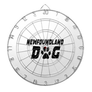 NEWFOUNDLAND DOG DESIGNS DARTBOARD
