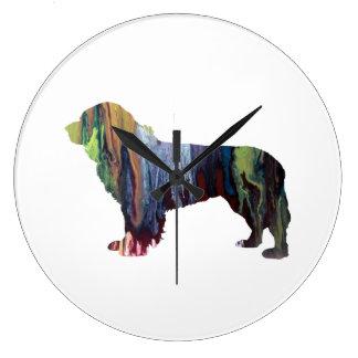 Newfoundland Dog Wall Clocks