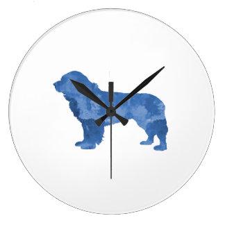 Newfoundland Dog Wallclock