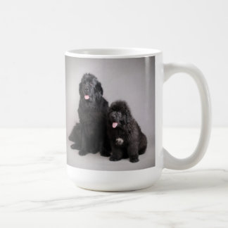 Newfoundland dogs mug
