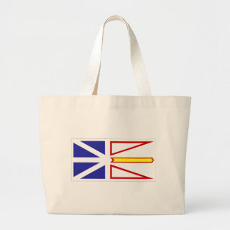 newfoundland-Flag #2 Large Tote Bag