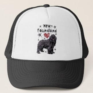 newfoundland-geometric-tee-shirt trucker hat