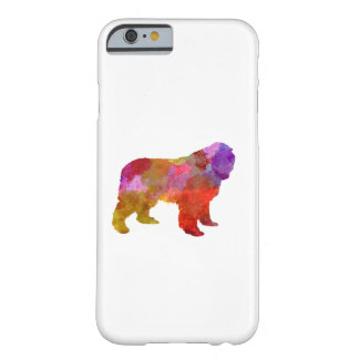 Newfoundland in watercolor barely there iPhone 6 case