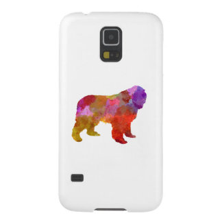 Newfoundland in watercolor galaxy s5 cover