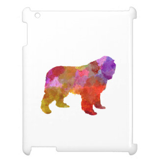 Newfoundland in watercolor iPad cases