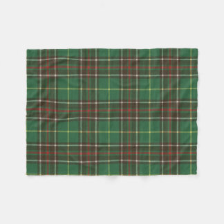 Newfoundland/Labrador Original Tartan Fleece Blanket