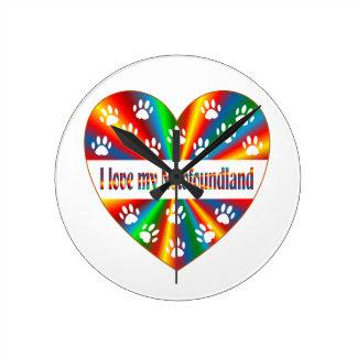 Newfoundland Love Clocks