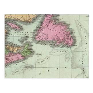 Newfoundland Nova Scotia And New Brunswick Postcard