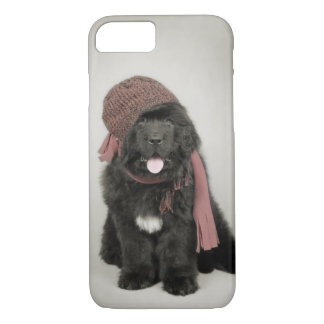 Newfoundland puppy iPhone 8/7 case