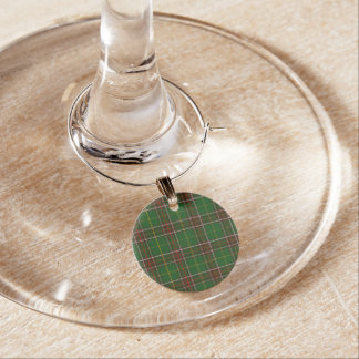 Newfoundland Tartan Christmas Wine Charms