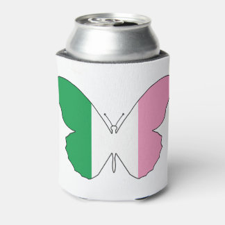Newfoundland Tricolour Buttlerfly Can Cooler