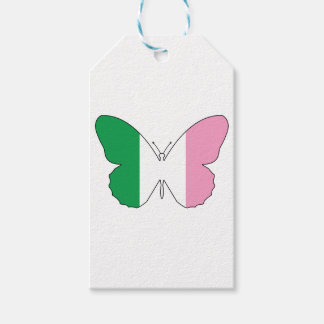 Newfoundland Tricolour Buttlerfly Gift Tags