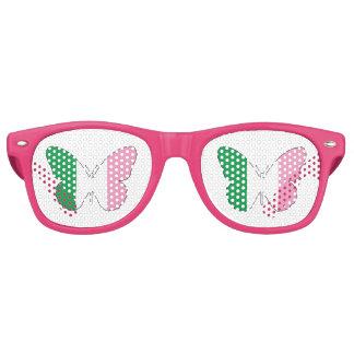 Newfoundland Tricolour Buttlerfly Retro Sunglasses