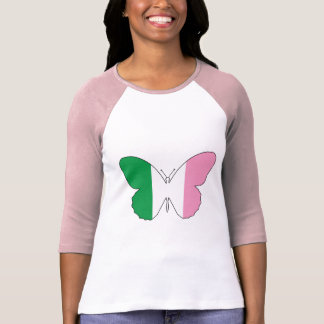 Newfoundland Tricolour Buttlerfly T-Shirt
