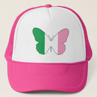 Newfoundland Tricolour Buttlerfly Trucker Hat