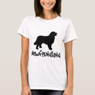 Newfoundland With Cool Text T-Shirt