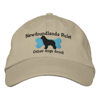 Newfoundlands Rule Embroidered Hat