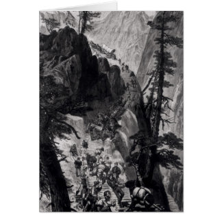 Newly Discovered Mines in the Rocky Mountains Card