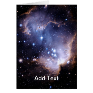 Newly Forming Stars Greeting Card