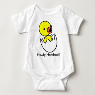 """Newly Hatched"" Cute Chicken & Eggl Infant Shirt"
