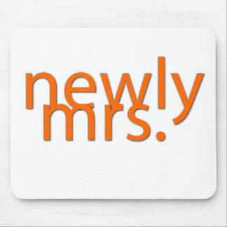 newly mrs-orange mouse pad
