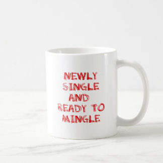 Newly Single and Ready to Mingle - 1 - Red Mug