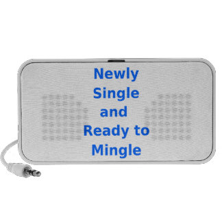 Newly Single and Ready to Mingle - 2 - Blue Mini Speakers