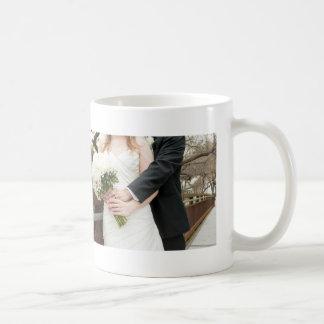 Newly Wed Couple Custom Two Photos Coffee Mug