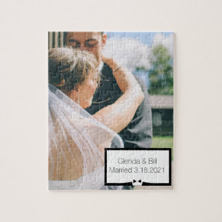 Newly Wed Photo Puzzle Gift